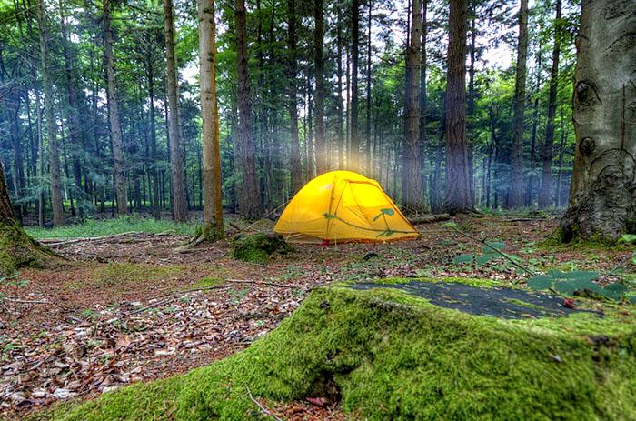 Les équipements nécessaires pour un séjour en camping en pleine nature